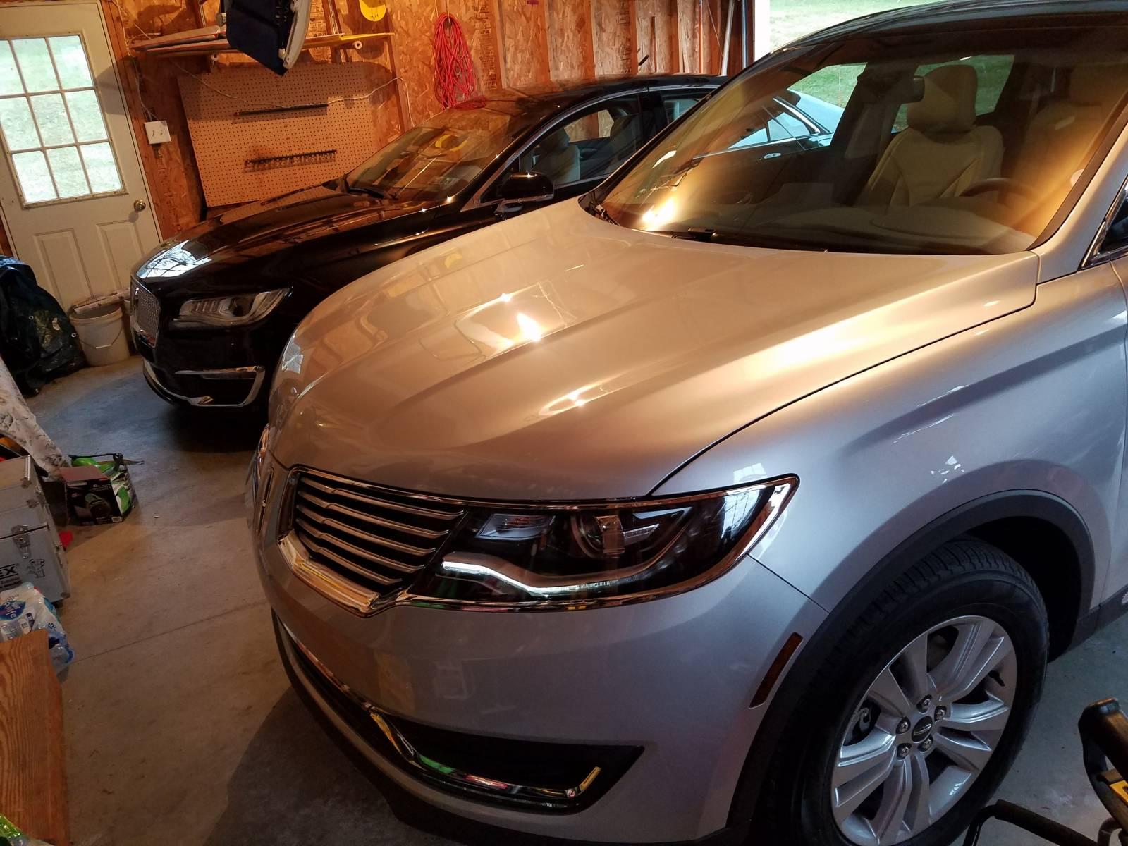 All Lincoln garage!